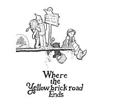 Where The Yellow Brick Road Ends Photographic Print