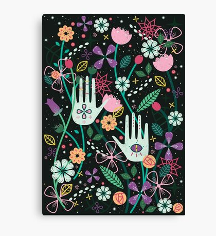 Botanical Hands  Canvas Print