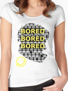 Sherlock BORED Women's Fitted Scoop T-Shirt
