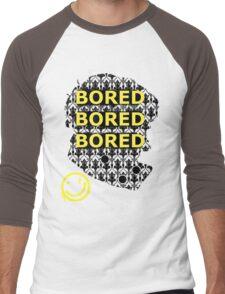 Sherlock BORED Men's Baseball ¾ T-Shirt