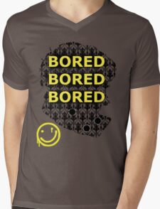 Sherlock BORED Mens V-Neck T-Shirt