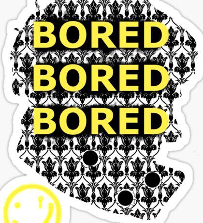 Sherlock BORED Sticker