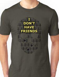 Sherlock Skull Unisex T-Shirt