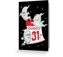 Day of the Ghosts Greeting Card