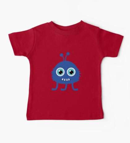 Cute and funny cartoon monster Baby Tee
