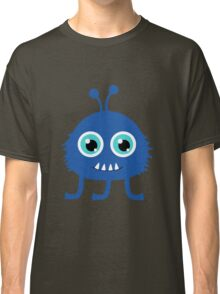 Cute and funny cartoon monster Classic T-Shirt