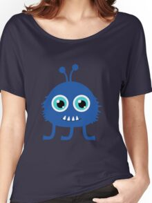 Cute and funny cartoon monster Women's Relaxed Fit T-Shirt