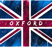 Oxford British Union Jack Flag by Mark Tisdale