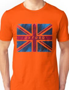 Oxford British Union Jack Flag Unisex T-Shirt