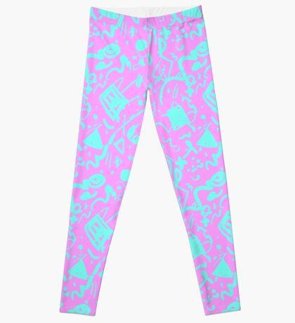 HELLO MEMPHIS (pink) Leggings