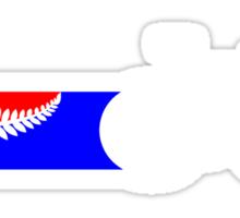 Bike Stripes New Zealand Sticker