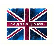 Camden Town Union Jack British Flag Art Print