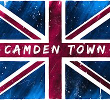 Camden Town Union Jack British Flag by Mark Tisdale