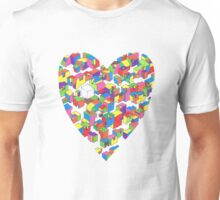 New Town #2 (Colour/Heart) Unisex T-Shirt