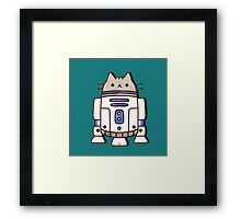 star pusheen wars Framed Print