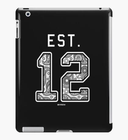Establish Date Tee iPad Case/Skin