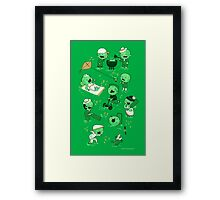 Lawn of the dead Framed Print