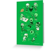 Lawn of the dead Greeting Card