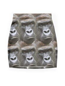 Harambe Mini Skirt