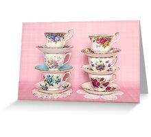 Time for tea! Greeting Card