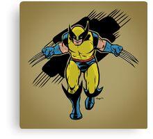 Wolverine :: X-Men Art Print Canvas Print