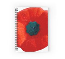 Lest we Forget - Remembrance Poppy Spiral Notebook