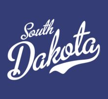South Dakota Script White by USAswagg2