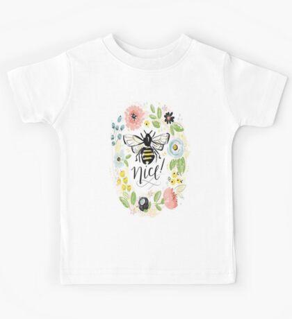 Bee Nice Kids Tee