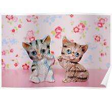 Hello Kitties Poster