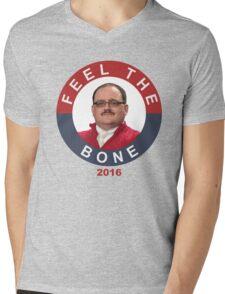 Ken Bone: Feel The Bone Mens V-Neck T-Shirt