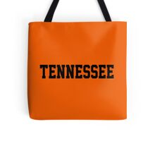 Tennessee Jersey Black Tote Bag