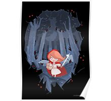 Little Red Fighting Hood Poster