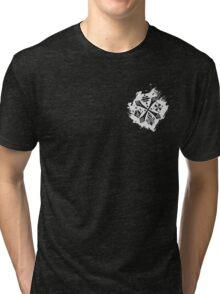 Guild Hunters Logo Splat White Tri-blend T-Shirt