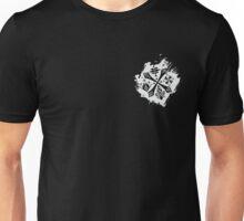 Guild Hunters Logo Splat White Unisex T-Shirt