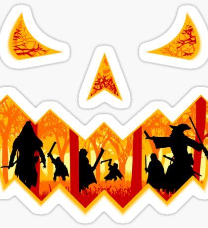 Pumpkin of the Rings Sticker
