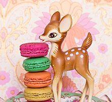 Om nom nom ~ Bambi & the macarons by Zoe Power