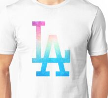°BASEBALL° L.A. Dodgers Rainbow Unisex T-Shirt