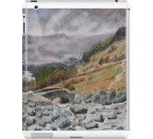 """""""A Break in the Clouds"""" Ashness Bridge, Borrowdale, Nr. Keswick, Cumbria iPad Case/Skin"""