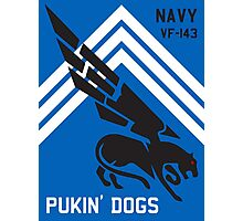 VF-143 Pukin Dogs Sans Reproache           Photographic Print
