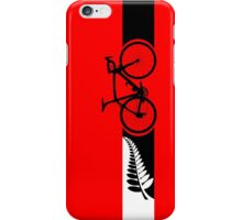 Bike Stripes New Zealand v2 iPhone Case/Skin