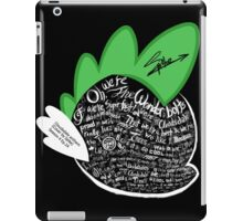 Cloudsdale Anthem - Cover by Spike iPad Case/Skin