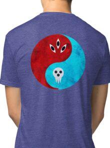 soul eater- yin yang version 2 Tri-blend T-Shirt