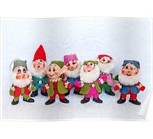 The seven dwarves Poster