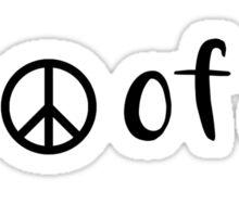 Peace of Shit Sticker