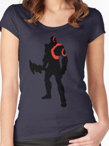Kratos - The God of War Women's Fitted Scoop T-Shirt