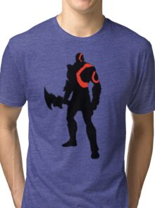 Kratos - The God of War Tri-blend T-Shirt