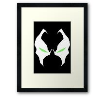 Spawn i love yor eyes Framed Print