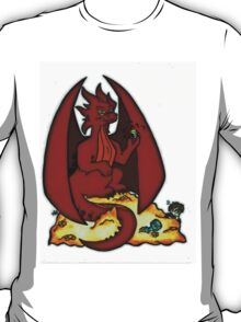 Cartoon Smaug (Without Logo) T-Shirt