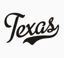 Texas Script Black Kids Clothes