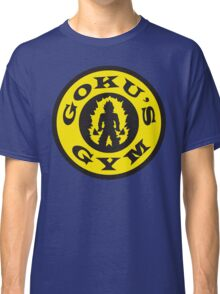 Goku's Gym (Round Gold's Gym Logo Parody) Classic T-Shirt